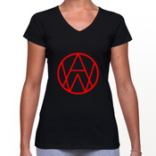 Alien Weaponry - AW Logo - Womans V Neck T