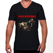 Alien Weaponry - AW Live - V Neck T