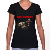 Alien Weaponry - AW Live - Womans V Neck T