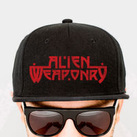 Alien Weaponry - Red Logo - Cap Thumbnail